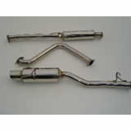Invidia N1 Stainless Steel Tip Cat-Back Exhaust 97-01 Honda Prelude