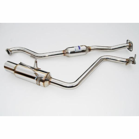 Invidia N1 Stainless Steel Tip with Resonator Cat-Back Exhaust 08-14 Subaru Impreza 4DR