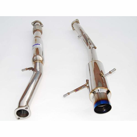 Invidia N1 Titanium Tip Cat-Back Exhaust 02-07 Subaru WRX/STI