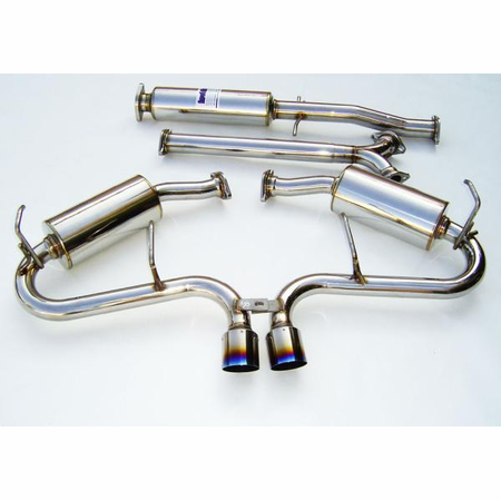Invidia N1 Titanium Tips Cat-Back Exhaust 05-06 Mini Cooper S