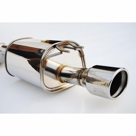 Invidia Q300 Polished Stainless Steel Tip Cat-Back Exhaust 12-UP Honda Civic Si Coupe