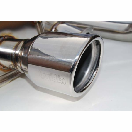 Invidia Q300 Rolled Stainless Steel Tip Cat-Back Exhaust 01-06 Acura RSX DC5 Type-S