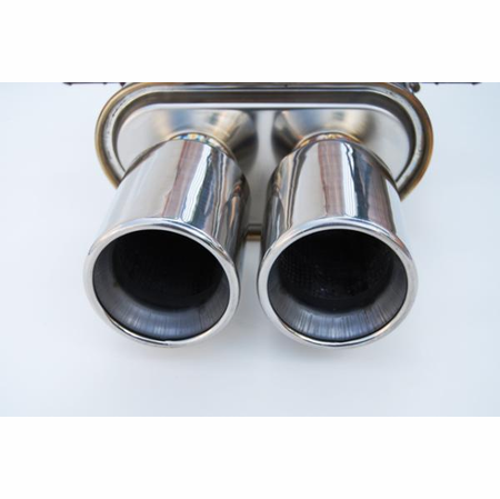 Invidia Q300 Stainless Steel Tips Cat-Back Exhaust 07-UP Mini Cooper S