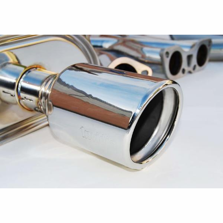 Invidia Q300 Stainless Steel Tips Cat-Back Exhaust for 07-UP Infiniti G35 4DR