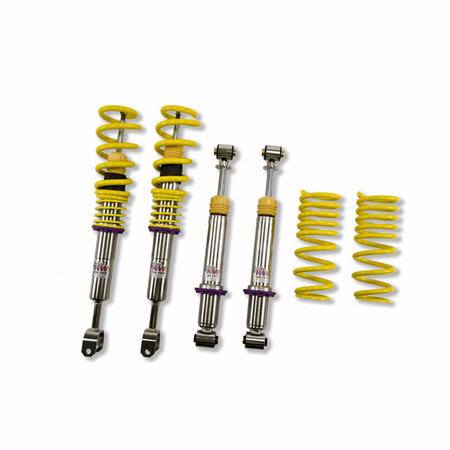 KW Variant 2 Coilover Kit Audi A4, S4 (8D/B5, B5S) Sedan + Avant; Quattro incl. S4; all engines