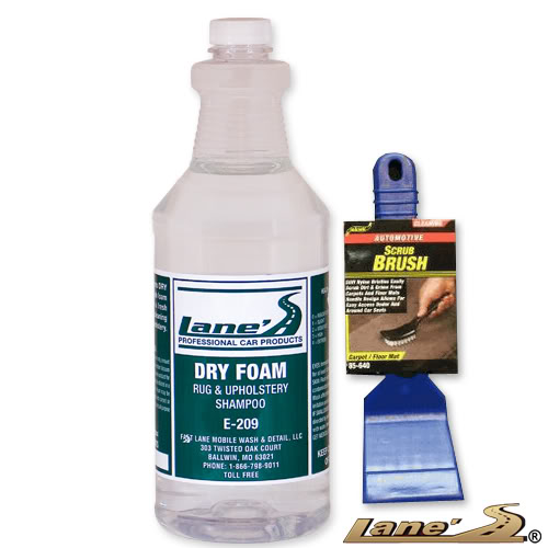 Rug Doctor Deep Carpet Cleaner Brush Cover: Lane's Dry Foam Professional Carpet Upholstery Seat