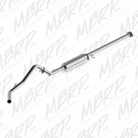 "MBRP 3"" Cat Back, Single Side, AL 2007-2008 Chevy/GMC 1500 (Next Gen.), CC, EC 6'6"" bed 4.8/5.3L"