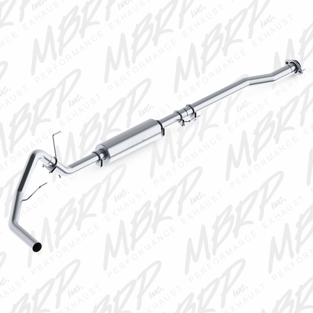 "MBRP 3"" Cat Back, Single Side, AL 2011-2014 Ford F150, V6 EcoBoost"