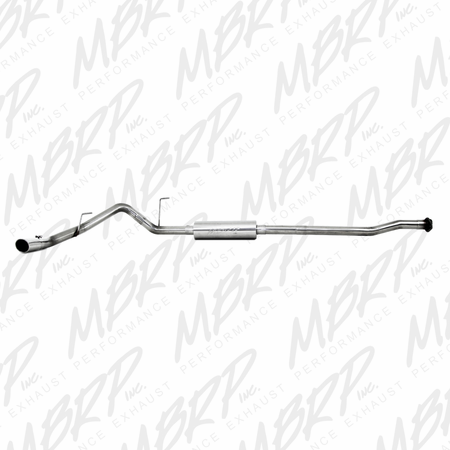 "MBRP 3"" Cat Back, Single Side, T409 2011-2014 Ford F150, V6 EcoBoost"