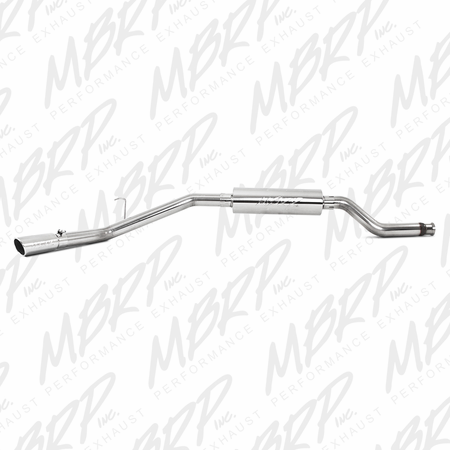"MBRP 3"" Resonator Back, Single Side Exit, T409 2000-2006 Toyota Tundra 4.7L (all models)"