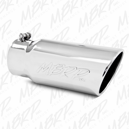 """MBRP 4"""" Turbo Back, Off Road, Single Turn Down, T409 2003-2007 Ford F-250/350 6.0L"""