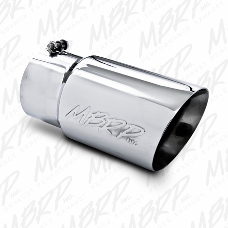 "MBRP 5"" Down Pipe Back, Off Road, Single Turn Down, T409 2001-2007 Chevy/GMC 2500/3500 Classic"