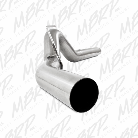 "MBRP 5"" Filter Back, Single Side Exit, T409 2007-2009 Dodge 2500/3500 Cummins 6.7L"