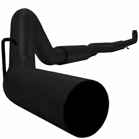 """MBRP 5"""" Off Road, Single Side (includes front pipe), Black Coated 2001-2007 Chevy/GMC 2500/3500 Duramax, Classic, EC/CC"""