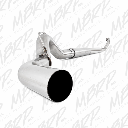 "MBRP 5"" Turbo Back, Single Side Exit, T409 2003-2004 Dodge 2500/3500 Cummins"