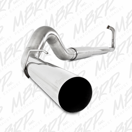"MBRP 5"" Turbo Back, Single Side Exit, T409 2003-2007 Ford F-250/350 6.0L, EC/CC"