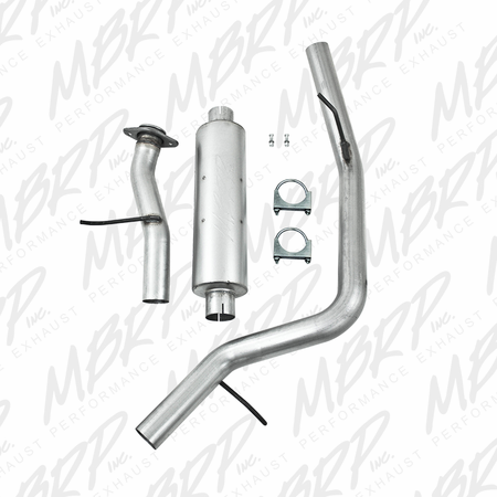MBRP Cat Back, Single Side, AL 2000-2006 Chevy/GMC Tahoe/Yukon 5.3L
