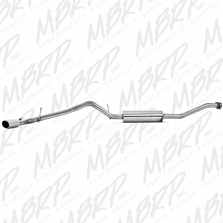 MBRP Cat Back, Single Side, T409 2004-2012 Chevy/GMC Colorado/Canyon 2.8/2.9/3.5/3.7L EC/CC-SB