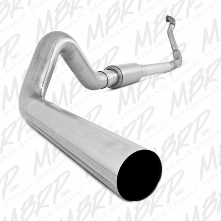 MBRP Turbo Back, Single Side Off-Road (Aluminized downpipe) 1994-1997 Ford F-250/350 7.3L