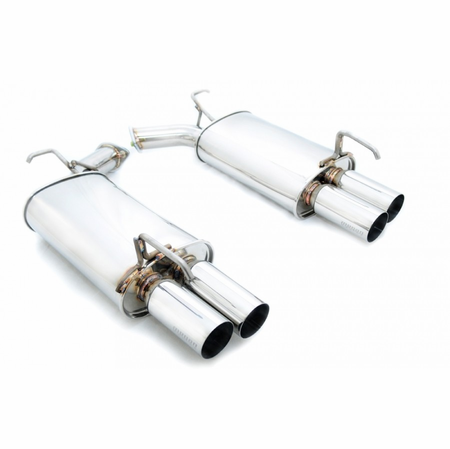 Megan Racing Axle Back Exhaust System: Infiniti M35/45 2006-2010 AWD/RWD
