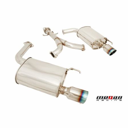 Megan Racing Axle Back Exhaust System: Lexus GS300/350 06-12