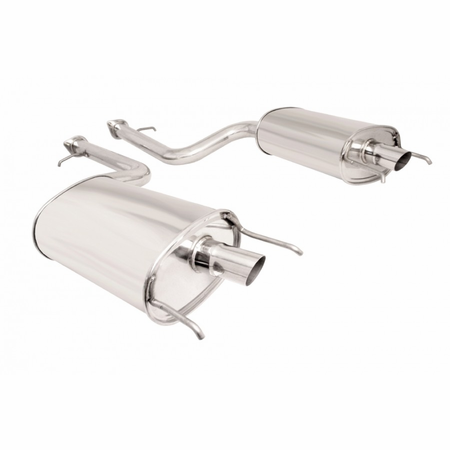 Megan Racing Axle Back Exhaust System: Lexus LS460 07-12