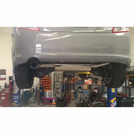 Megan Racing Axle Back Exhaust System: Scion TC 11+ Polish Tip