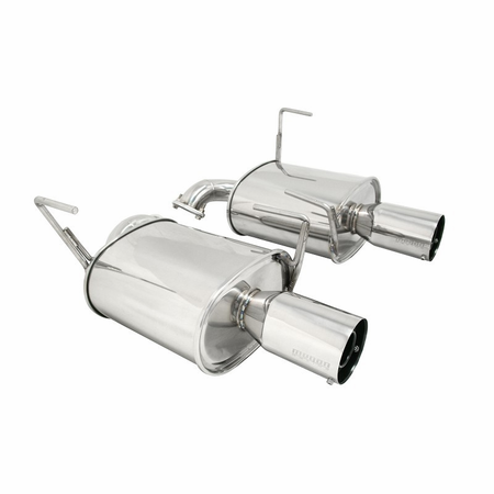 Megan Racing Axle Back Exhaust System: Subaru WRX 4 Door 08-14