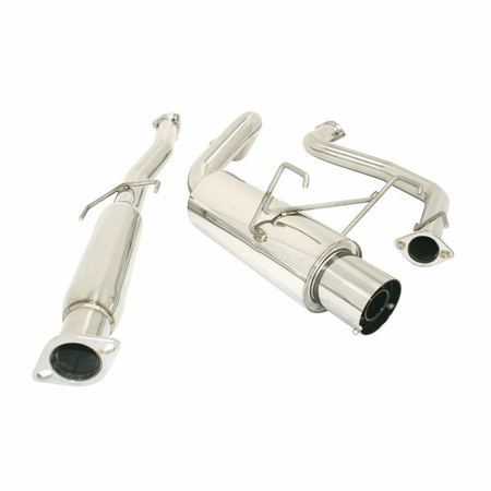 Megan Racing Drift Spec Cat-Back Exhaust System: Acura Integra 94-99 GSR 2DR