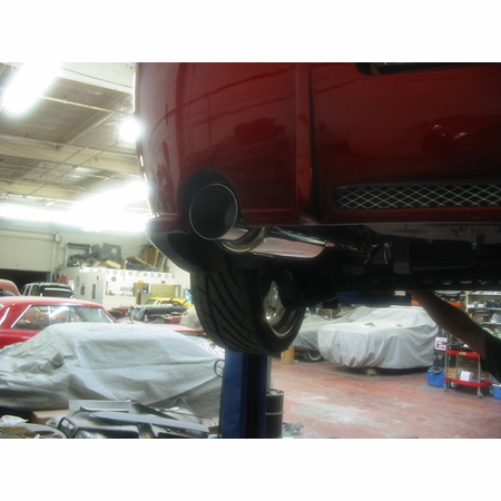 Megan Racing Drift Spec Cat-Back Exhaust System: Chevy Cobalt SS Supercharge 05-07