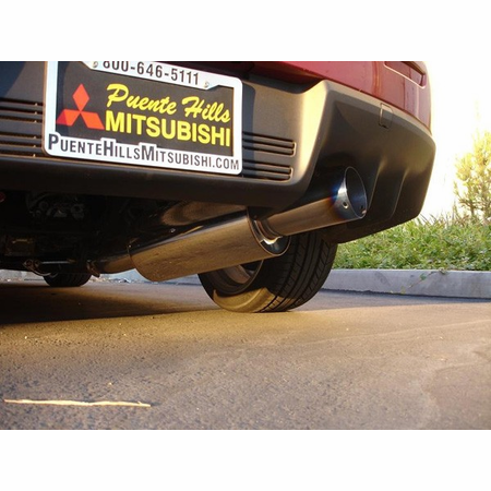 Megan Racing Drift Spec Cat-Back Exhaust System: Mitsubishi EVO 10 08+