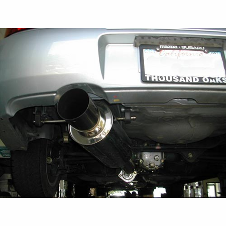 Megan Racing Drift Spec Cat-Back Exhaust System: Mitsubishi Galant 99-02 2.4