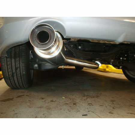 Megan Racing Drift Spec Cat-Back Exhaust System: Scion TC 11+ Polish Tip