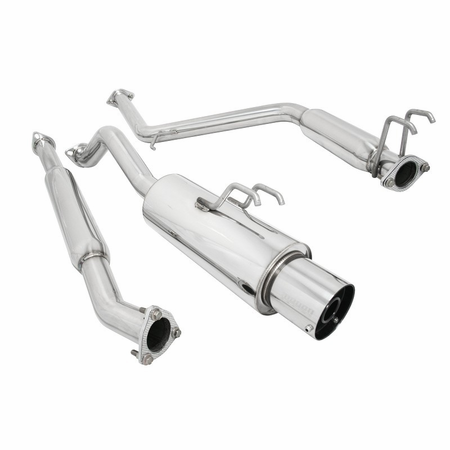 Megan Racing NA Type Cat-Back Exhaust System: Honda Civic 06-11 2dr coupe - EXCLUDES SI