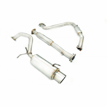 Megan Racing NA Type Cat-Back Exhaust System: Mitsubishi Eclipse 95-99 GS/RS