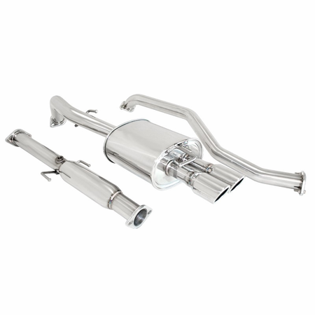 Megan Racing OE-RS Cat-Back Exhaust System: Kia Spectra 05-09 4Dr Only