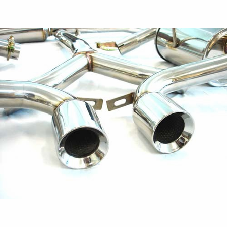 Megan Racing OE-RS Cat-Back Exhaust System: Mini Cooper S 02-03
