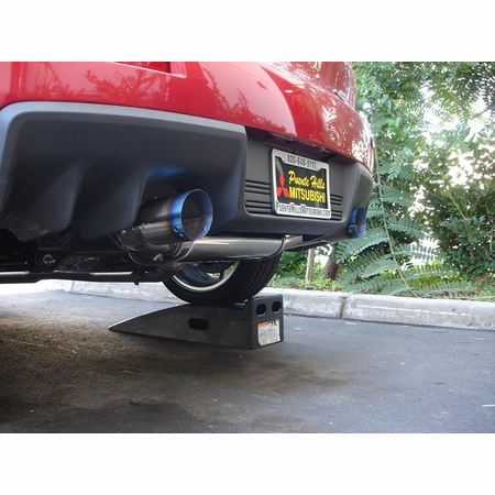 Megan Racing OE-RS Cat-Back Exhaust System: Mitsubishi EVO 10 08+