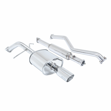 Megan Racing OE-RS Cat-Back Exhaust System: Mitsubishi Lancer 02-06