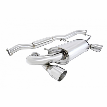 Megan Racing OE-RS Cat-Back Exhaust System: Nissan 350Z Stainless Roll Tips