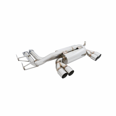 Megan Racing Supremo Exhaust System: BMW E46 M3 01-06 Polish Tip