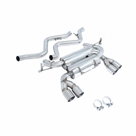 Megan Racing Supremo Exhaust System: BMW E90 M3 4 DR 2008-11