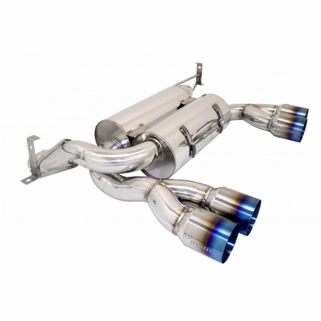 Megan Racing Supremo Exhaust System: BMW E92 M3 2008-13 Blue Titanium tip