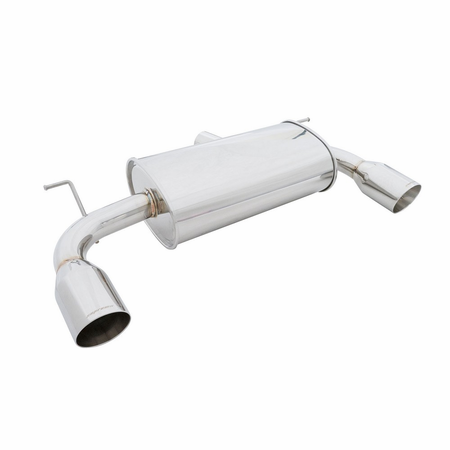Megan Racing Supremo Exhaust System: BMW F30 335i 2012+ Stainless Roll Tips
