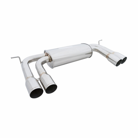 Megan Racing Supremo Exhaust System: BMW X6M 2010-14 Stainless Tips