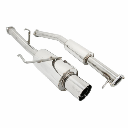 Megan Racing Turbo Type Cat-Back Exhaust System: Nissan 240SX S14 95-98 Short Tip