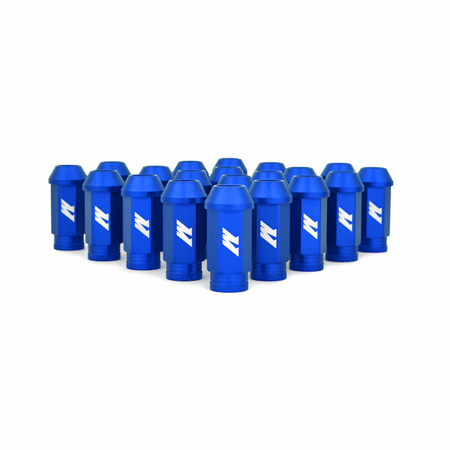 Mishimoto Aluminum Competition Lug Nuts, M12 X 1.5 Blue