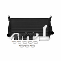 Mishimoto Chevrolet/GMC 6.6L Duramax Intercooler Kit, 2002-2004.5 Black