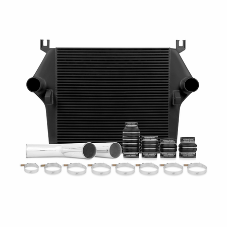 Mishimoto Dodge 5.9L Cummins Intercooler Kit, 2003-2007 Black