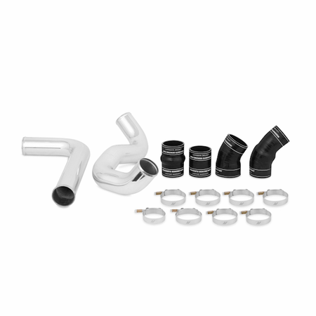 Mishimoto Ford 6.0L Powerstroke Intercooler Pipe and Boot Kit, 2003-2007 Black